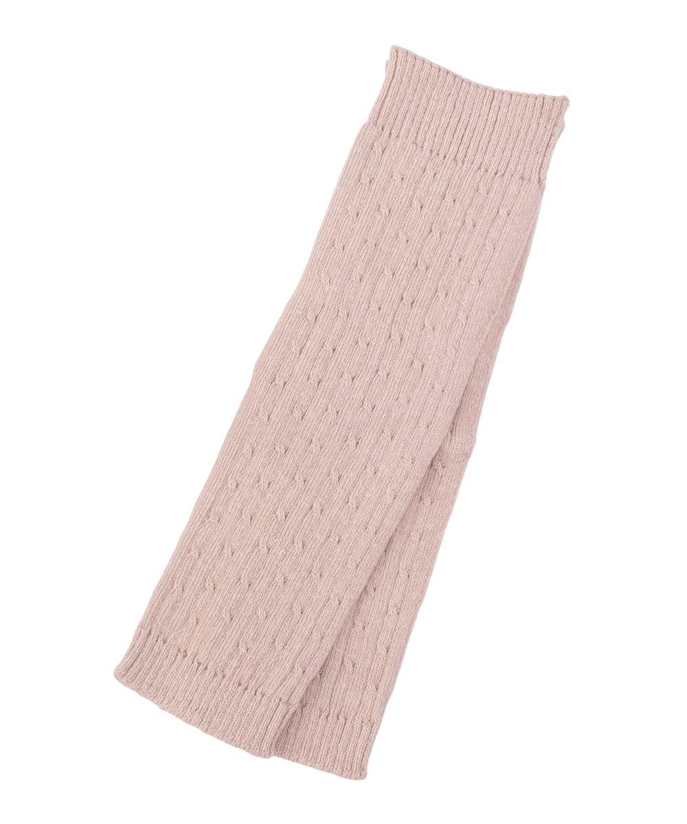 17℃ レディース ケーブル編みアームandレッグウォ-マー